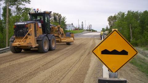 Image of road work