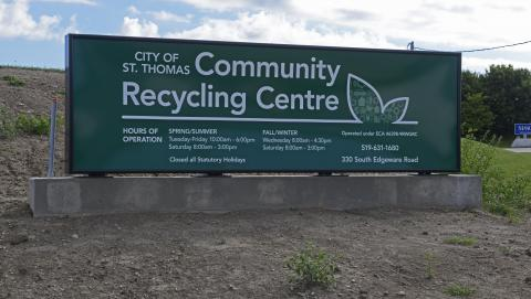 St Thomas Recycling Centre
