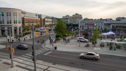 Image of Waterloo town square
