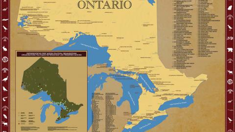 Image of first Nations and Treaties map Source: Government of Ontario